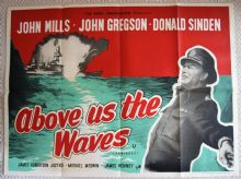 Above Us the Waves Film Poster - UK Quad